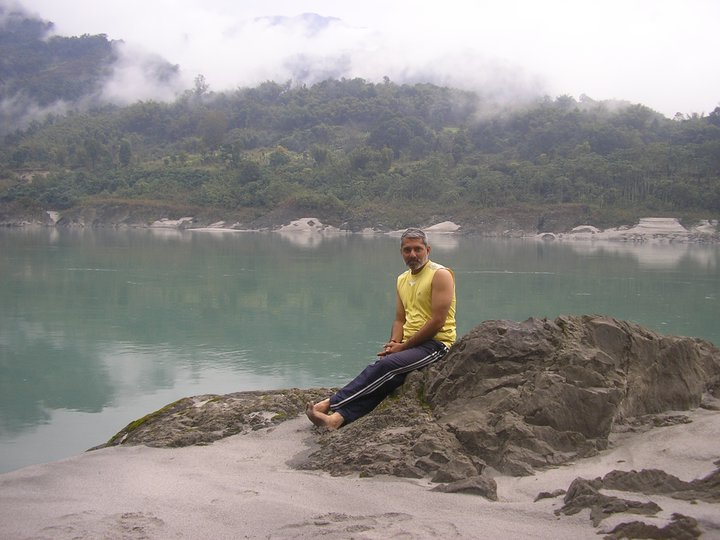 Rafting down the Brahmaputra